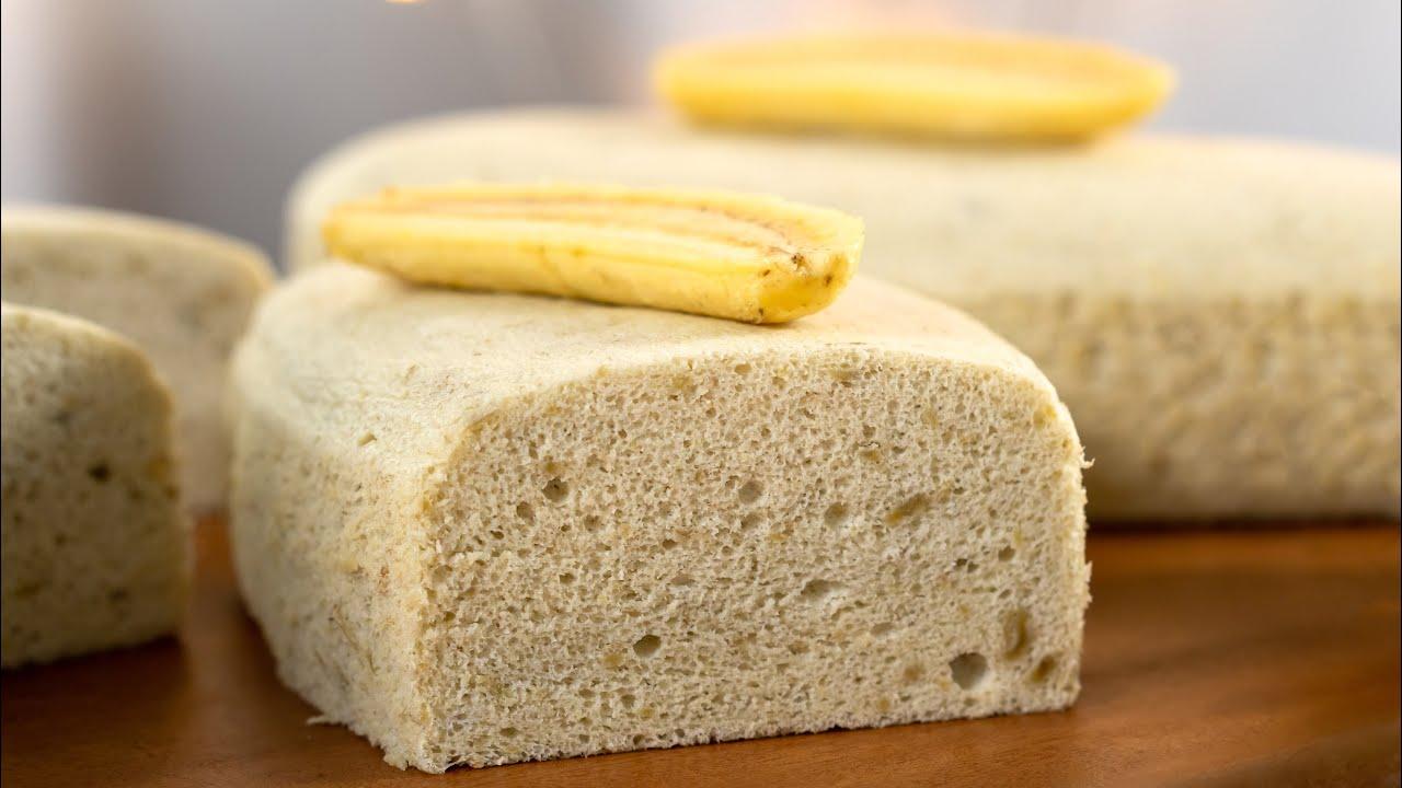 蒸香蕉海绵蛋糕 | 无泡打粉苏打粉 | 分蛋法 Steamed Banana Sponge Cake | No Baking Powder & Soda [小雁/我的爱心食谱]