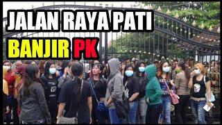 Ribuan PK Di Pati Turun Ke Jalan Tolak Penutupan Karoeke