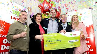 Young Donegal Farmer Becomes Lotto Millionaire