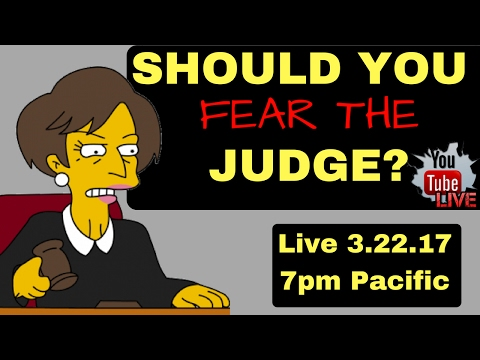 "Federal Prison Time- Should ""YOU"" Fear the Judge?"