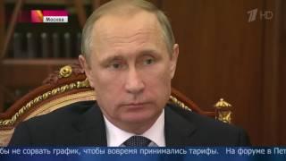 Владимиру Путину показали синергию