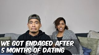 engaged after 2 months of dating