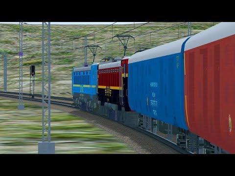 Banker Duty || Freight Train Rescue || Indian Train simulator