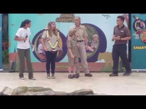 The Irwins Talk @ Singapore Zoo
