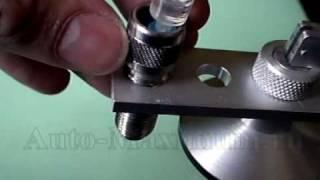 Ремонт скола на лобовом стекле автомобиля(, 2010-03-06T23:07:38.000Z)