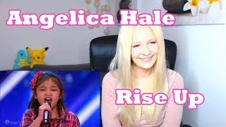 Angelica Hale - Rise Up [America's Got Talent Audition] (Reaction)