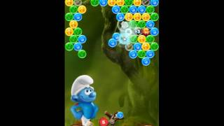 Smurfs Bubble Story Level 194 - NO BOOSTERS