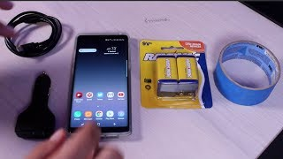 Hurricane Irma Hack How To Charge Your Phone With A 9 Volt Battery