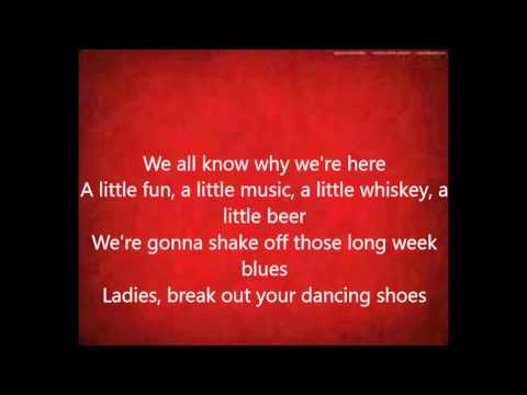 Drinking Class-Lee Brice- [ON SCREAN LYRICS]