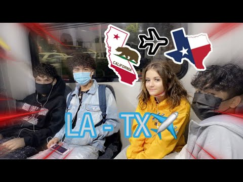 me and my friends ran away to Texas (vlog)