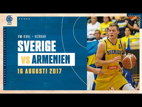 FULL GAME: Sverige-Armenien (FIBA World Cup European Pre-Qualifiers)
