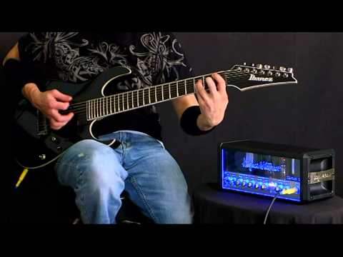 hughes and kettner tubemeister 18 metal demo youtube. Black Bedroom Furniture Sets. Home Design Ideas