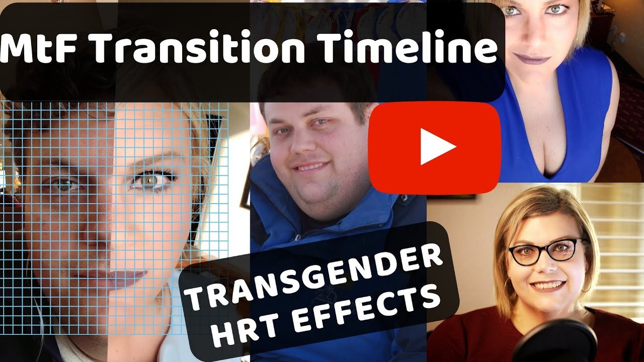 Mtf Transgender Transition Changes From Hrt And Weight Loss Over 2