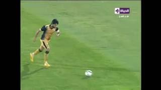 محمود فتح الله يحرز هدف عالمي الأول للانتاج الحربي في فريق المقاصة عن بعد