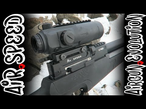Evanix Airspeed .25 Cal Semi-Automatic Airgun  | Setup and Test | Airgun Evolution