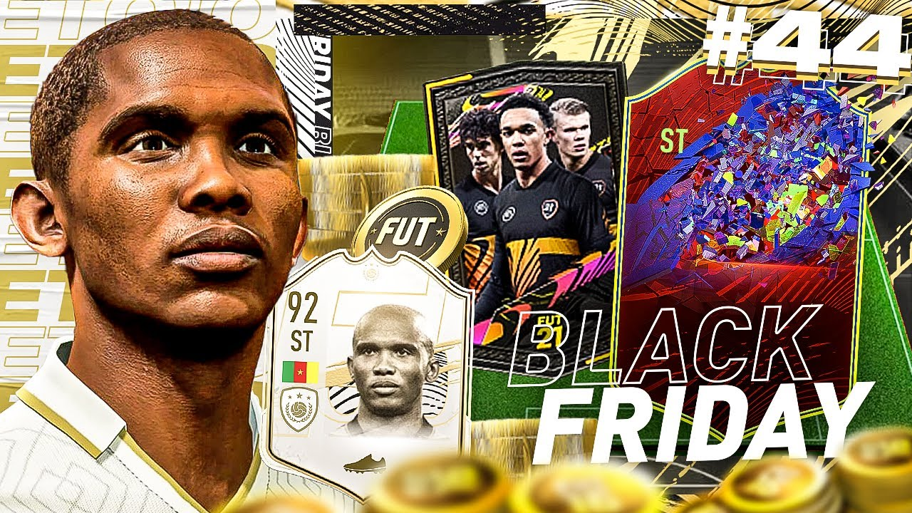 RECORD BREAKER IN A PACK!! MEGA BLACK FRIDAY PACK OPENING - ETO'O'S EXCELLENCE #44 (FIFA 21)