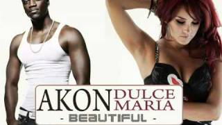 Akon e Dulce Maria - Beautiful. VIDEO (OFICIAL)