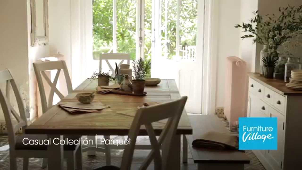 furniture village dining chairs. parquet furniture | oak dining tables, chairs \u0026 sets village - youtube