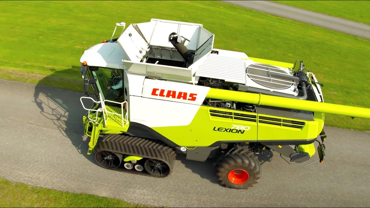 CLAAS LEXION 780 - Follow Me To Agritechnica 2015 #fmtagt | FunnyCat TV