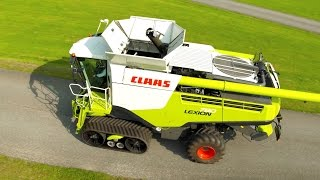 CLAAS LEXION 780 - Follow Me To Agritechnica 2015 #fmtagt