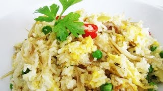 Easy One Pot Fried Rice 炒饭 (no Pre-cooked Rice/ No Rice Cooker Needed) Riso Alla Cantonese