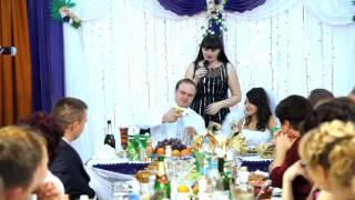 Самый простой свадебный конкурс с фруктами на банкете