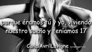 Avril Lavigne - 17 (Traducido Al Español)