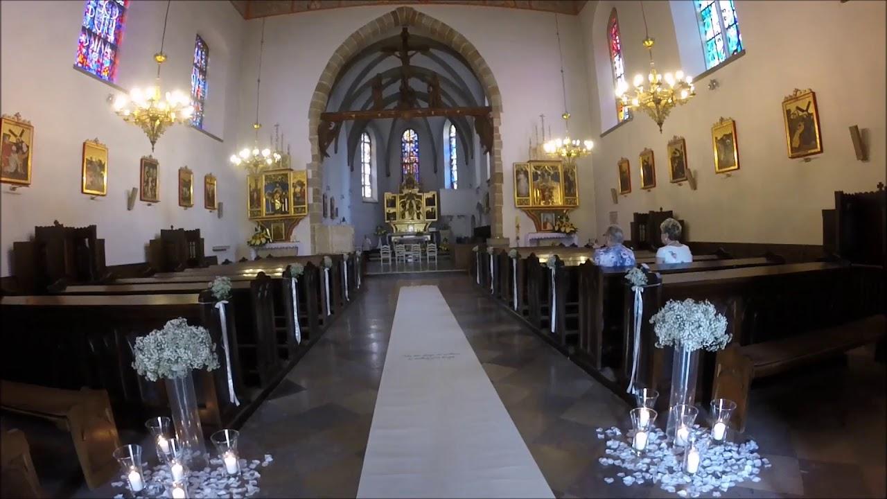 Bardzo dobra Dekoracja kościoła do ślubu Jasło dekoracje weselne Jasło BO09