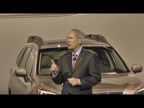Press Conference: 2014 New York International Auto Show