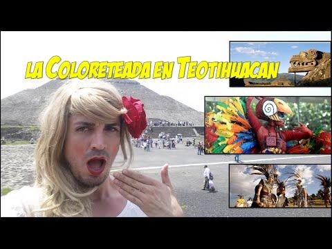 La Coloreteada en Teotihuacan