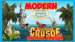 Robinson Crusoe (Official Movie Trailer) 2020