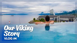 Our Viking Story | Infinity pool and Spa | Ep 4