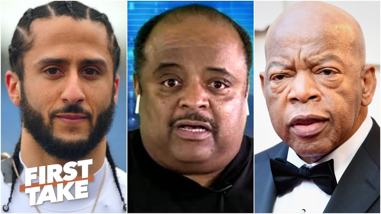 Roland Martin on the legacies of John Lewis and Colin Kaepernick | First Take