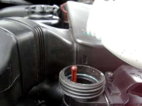 DIY Checking  Adding Coolant on a BMW  YouTube