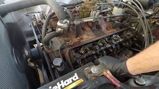 Setting Valve Lash on 1966 Dodge Charger with Poly 318 V8