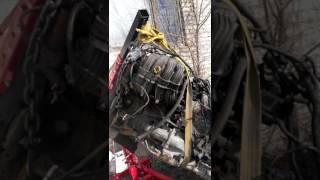 Замена двигателя змз 406 на крайслер (газ 31105) часть 1