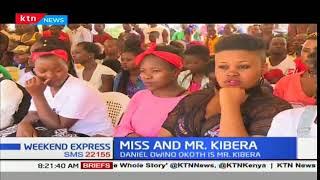 Happiness Mwisha and Daniel Owino win the Mr. and Miss Kibra competition