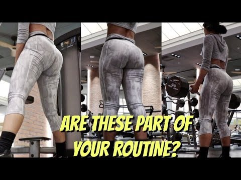 ADD MASS To Your Glutes Doing These Exercises
