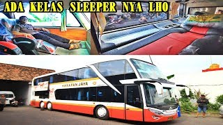Download Video INIKAH BUS MALAM TERNYAMAN DI PULAU JAWA ?? Harapan Jaya Double Deckker MP3 3GP MP4