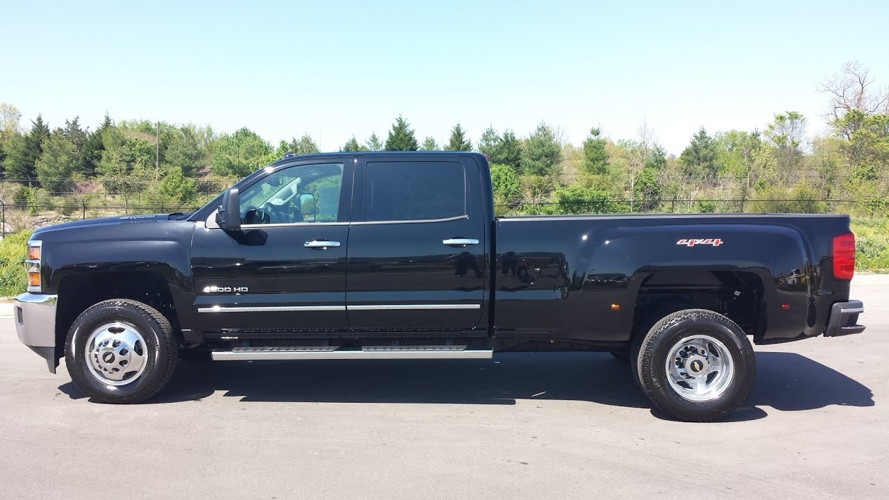 SOLD.2015 CHEVROLET 3500 HD CREWCAB DRW LTZ 4X4 BLACK ...