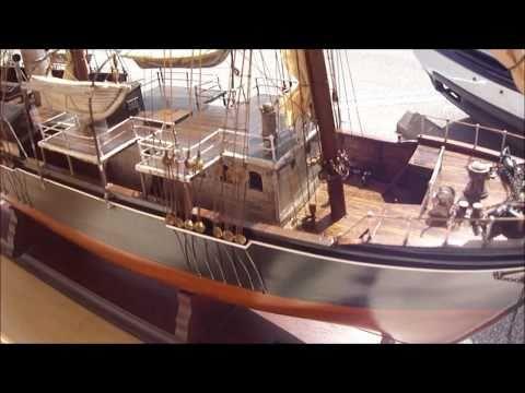 Abordage Endurance 1914 Model Ship