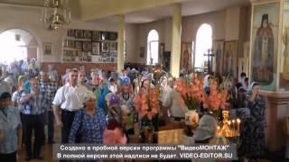 Свято-Введенский храм г. Першотравенск: Литургия в день памяти свв. Петра и Павла