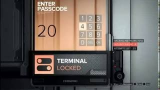 Deus Ex Mankind Divided  - Prague - TF29 - Combination Keypad Code Safe
