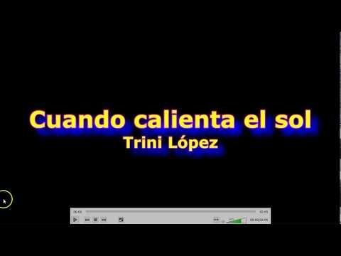 Cuando calienta el sol (Trini López) resumen acordes cover