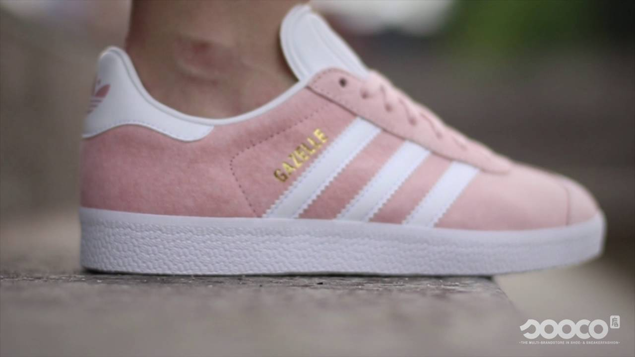 adidas originals gazelle roze