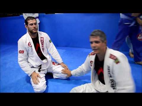 Faixa-marrom de Jiu Jitsu, Márcio Garcia treina com Roger Gracie
