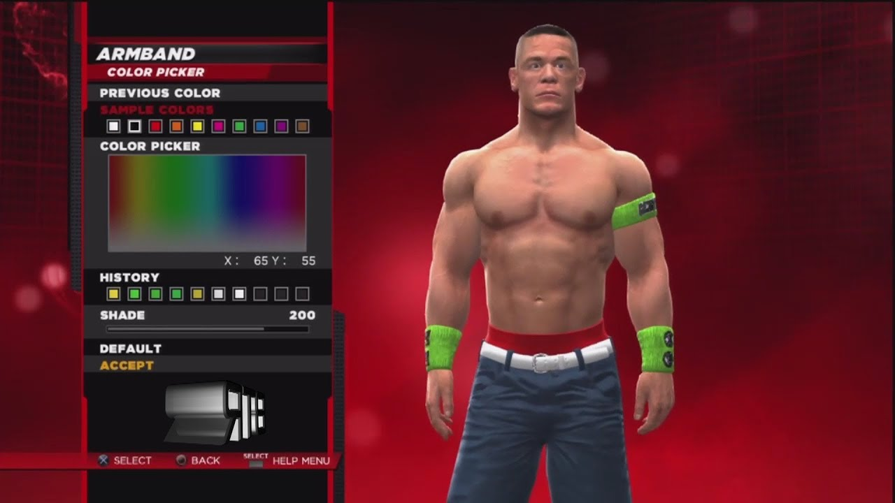 wwe 2k14 superstar threads john cena wrestlemania 30 attire - youtube