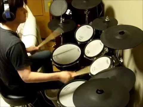 嵐の GUTS! を叩いてみた(Drums Cover)