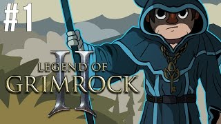 Legend of Grimrock 2 - Part 1 - Rag Tag Bunch - Gameplay Walkthrough