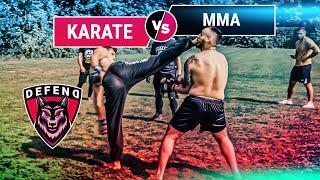 Karate-World-Champion vs. Armenian-MMA-Pro | DEFEND Fight Club